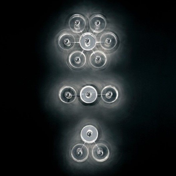 Fiore wall ceiling lamp Oluce