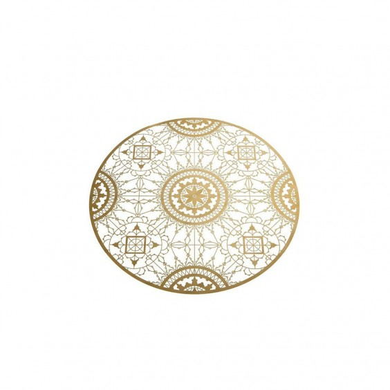 Italic Lace Round placemat Driade Kosmo
