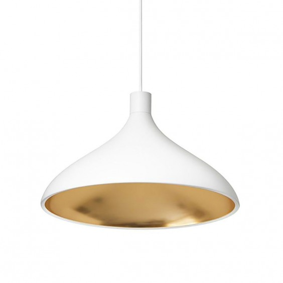 Pablo Swell Single Wide Pendant Lamp Agof Store