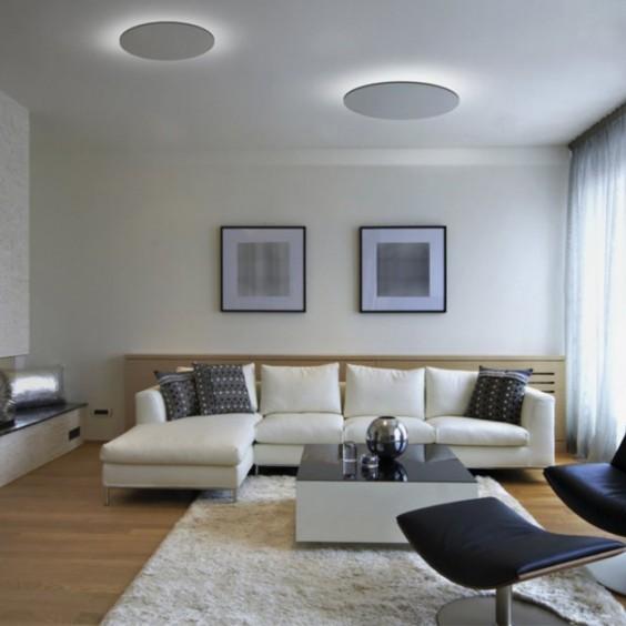 Moonlight Ø50 wall ceiling lamp Egoluce