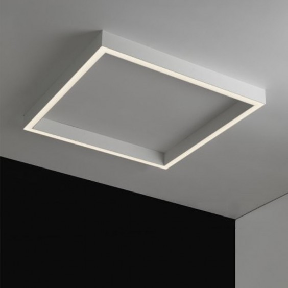 Rail Quadra ceiling lamp Egoluce