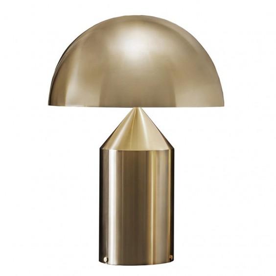 Atollo Oro Gold table lamp Oluce
