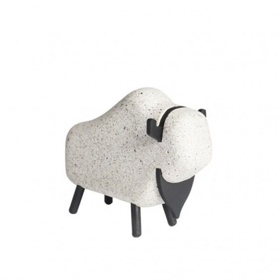 Concrete Bison decorative object Korridor
